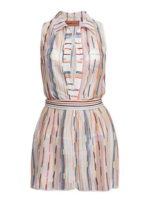 Missoni multicolor short overalls