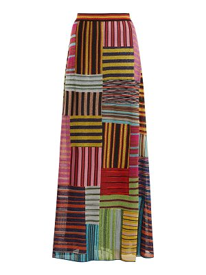 Missoni Patchwork Lamé skirt