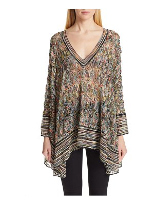 Missoni pointelle poncho