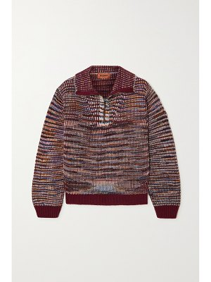 Missoni ribbed cashmere and wool-blend sweater