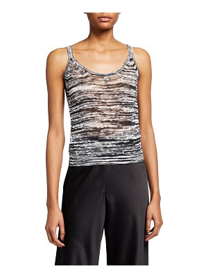 Missoni Space-Dye Knit Tank Top
