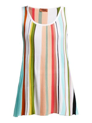 Missoni Striped Cotton Tank Top