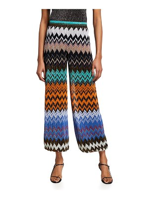 Missoni Zigzag Knit Lantern Pants