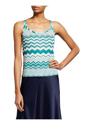 Missoni Zigzag Knit Tank Top