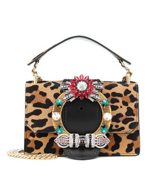 Miu Miu calf hair shoulder bag