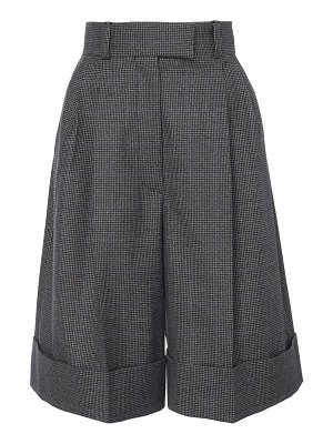 Miu Miu cuffed knee-length shorts