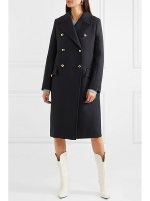 Miu Miu double-breasted wool-twill coat