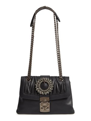 Miu Miu fendi grace matelasse leather shoulder bag