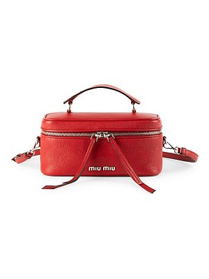 Miu Miu medium leather beauty satchel