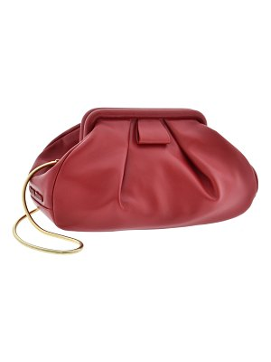 Miu Miu nappa leather clutch