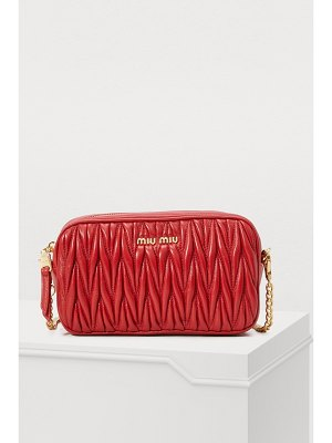Miu Miu Quilted cross-body bag