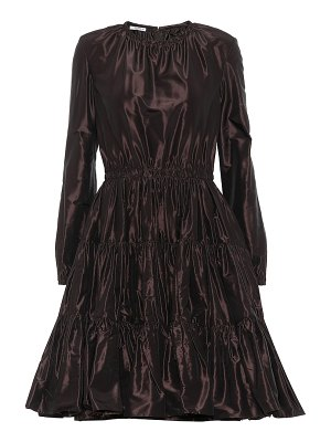 Miu Miu silk-taffeta dress