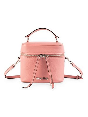 Miu Miu small leather beauty satchel