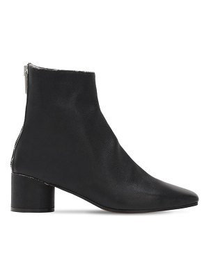 MM6 Maison Margiela 45mm leather ankle boots