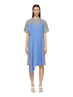 MM6 Maison Margiela and grey overlay dress