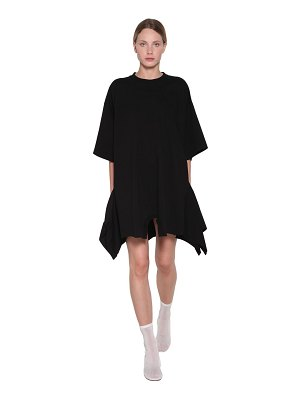 MM6 Maison Margiela Asymmetric cotton mini dress