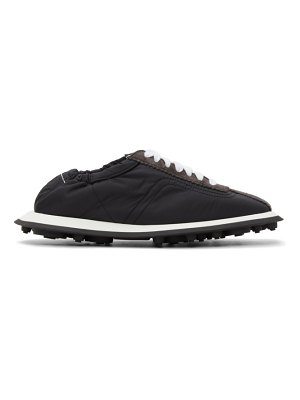 MM6 Maison Margiela black 6 racer sneakers