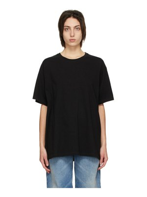 MM6 Maison Margiela black back logo t-shirt