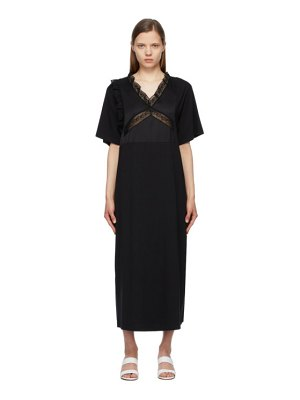 MM6 Maison Margiela black combo tee dress