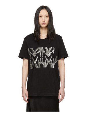 MM6 Maison Margiela black hands t-shirt