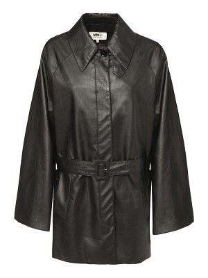 MM6 Maison Margiela Faux leather jacket
