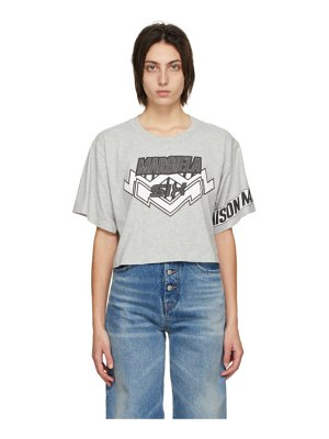 MM6 Maison Margiela grey motocross t-shirt