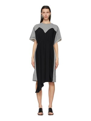 MM6 Maison Margiela grey overlay dress
