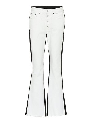 MM6 Maison Margiela high-rise flared jeans