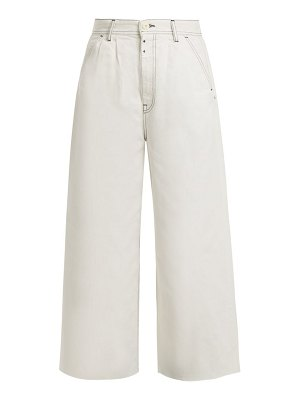 MM6 Maison Margiela high rise wide leg jeans