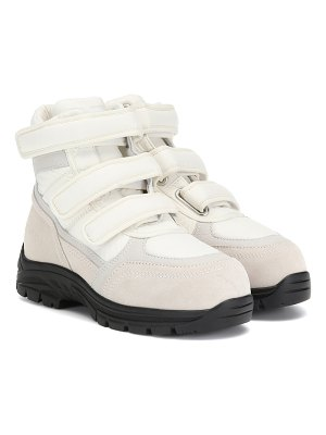 MM6 Maison Margiela high-top suede sneakers