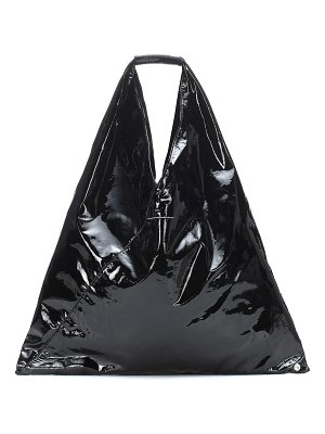 MM6 Maison Margiela Japanese coated leather tote