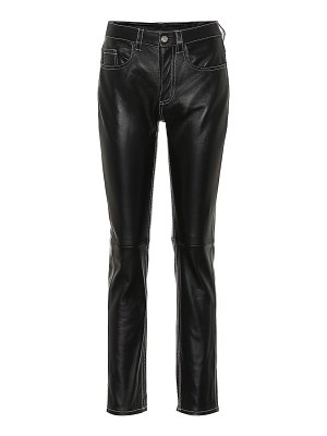 MM6 Maison Margiela leather pants