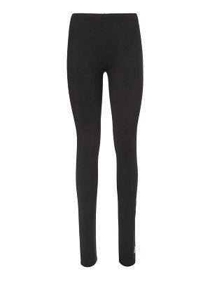 MM6 Maison Margiela Logo lycra leggings