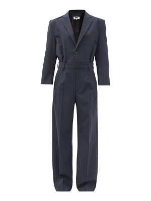 MM6 Maison Margiela pinstriped tailored jumpsuit