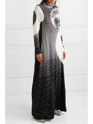 MM6 Maison Margiela printed stretch-jersey maxi dress