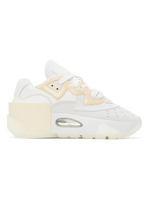 MM6 Maison Margiela white 6-cylinder sneakers