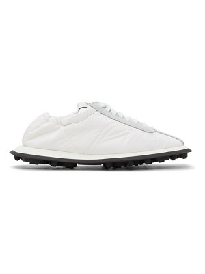 MM6 Maison Margiela white and grey 6 racer sneakers