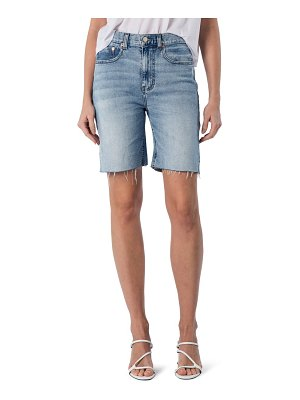 MODERN AMERICAN la brea high waist denim shorts