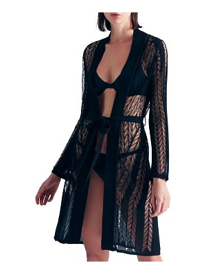 MOEVA Chantel Knit Belted Coverup