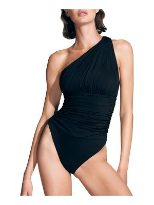 MOEVA Penny Ruched One-Piece Swimsuit