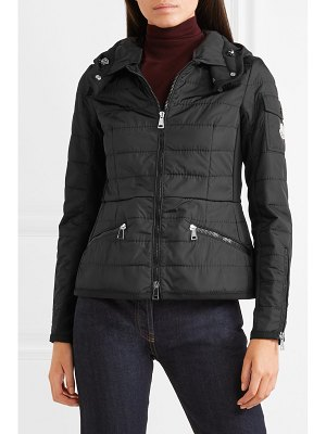 Moncler belted quilted shell jacket