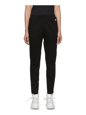 Moncler black logo lounge pants