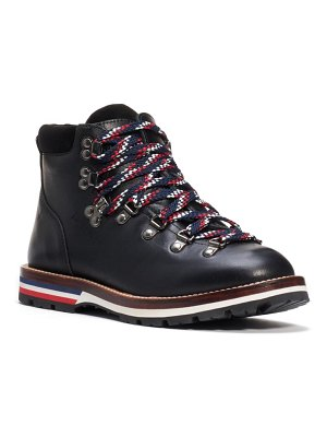 Moncler blanche lace-up boot