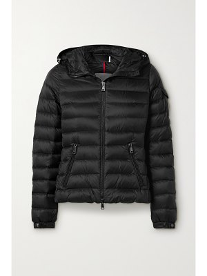 Moncler bles hooded quilted shell down jacket