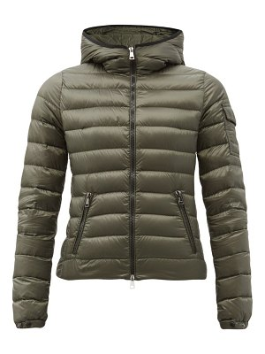 Moncler bles hooded quilted down jacket