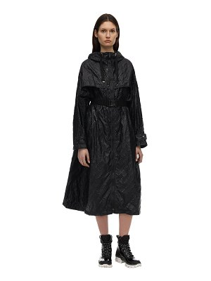 Moncler Bouteille nylon trench coat