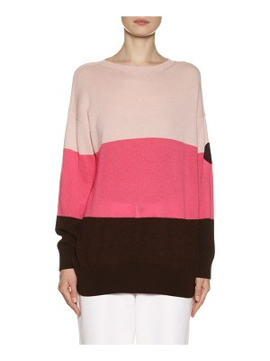 Moncler Cashmere Colorblock Sweater