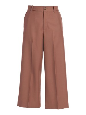 Moncler cropped wide-leg trousers