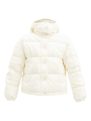 Moncler daos check-jacquard quilted-shell down jacket