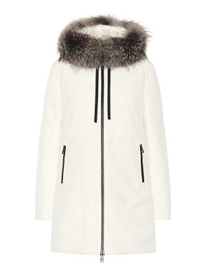 Moncler Fur-trimmed jacket